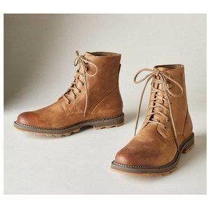 Sorel Madson 6 In Waterproof Rain Leather Boot